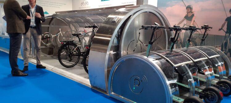 aparcamiento bicicletas eléctricas