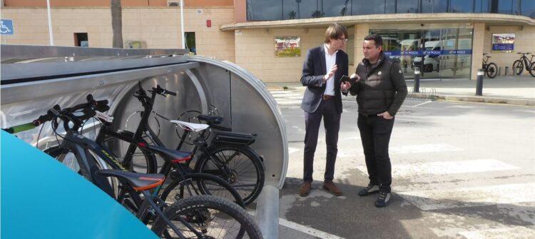 la nucia parking bicis