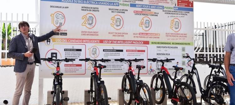 parking bicicletas lanzarote