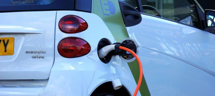 Vehículo eléctrico.