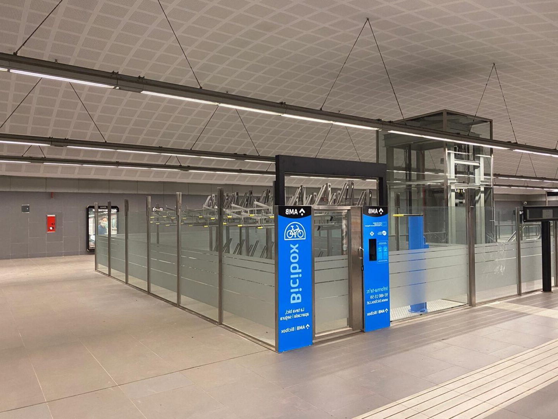 Instalación Metro Badalona (1)